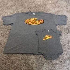 Other - Baby and Daddy Pizza Pie/Slice Outfit 🍕